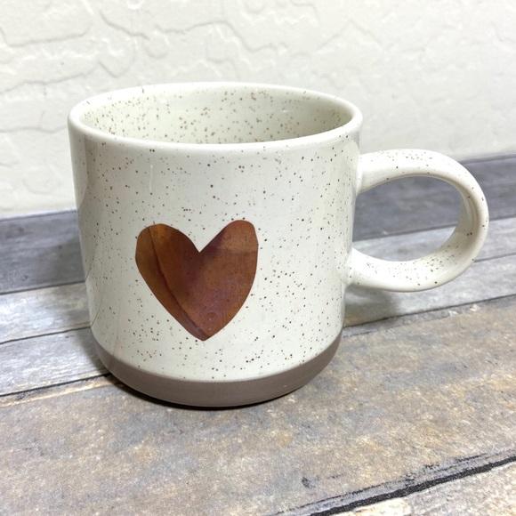Starbucks Heart Speckled Mug 12oz Rare